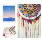 For iPad Air 2/iPad 6 Wind bell Pattern Leather Case with Holder, Card Slots & Wallet
