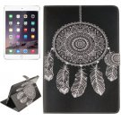 For iPad Air 2/iPad 6 Wind-bell Pattern Leather Case with Holder, Card Slots & Wallet