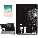 For iPad Pro 10.5 inch Dandelion Pattern Smart Cover Case Back Cover with 3 Fold Holder