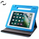 For iPad Pro 10.5 inch Blue Rotating Leather Case + Removable EVA Smart Cover Case