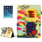 For iPad mini 4/3/2/1 Party Pattern Smart Cover Leather Case with Holder & Card Slots