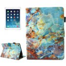For iPad mini 4/3/2/1 Marble Pattern Smart Cover Leather Case with Holder & Card Slots