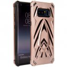 For Galaxy Note 8 Rose Gold PC + TPU Protective Back Cover Case