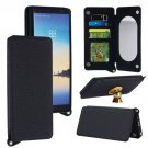 For Galaxy Note 8 Black Back Case Cover with Card Slot, Photo Frame, Holder & Mirror