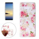 For Galaxy Note 8 Roses Pattern TPU Protective Case