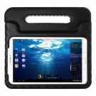 For Tab E 9.6 T560 Black EVA Bumper Protective Case with Handle & Holder