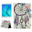 For Galaxy Tab A 9.7 T550 Windbell Pattern Horizontal Flip Leather Case with Holder