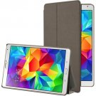 For Galaxy Tab S 8.4 / T700 Brown Frosted Texture Flip Leather Case with Holder