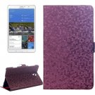 For Tab S 8.4 / T700 Purple Honeycomb Texture Flip Leather Case with Holder