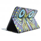 For Tab 4 10.1 / SM-T530 Owl Pattern Leather Case with Holder, Card Slots & Wallet