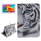 For Tab 4 10.1 / T530 Tiger Pattern Leather Case with Holder, Card Slots & Wallet