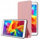 For Tab 4 7.0 / T230 Pink Frosted Texture Flip Leather Case with Holder