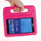 For Tab 4 7.0 / SM-T230 Magenta EVA Rugged Foam Case with Handle and Holder