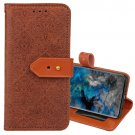 For Galaxy S9 Brown European Embossed Leather Case with Holder, Card Slots & Wallet