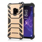 For Galaxy S9 Rose gold Shockproof Anti-slip TPU + PC Protective Back Case