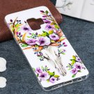 For Galaxy S9 Noctilucent Sika Deer Pattern TPU Soft Back Case Protective Cover