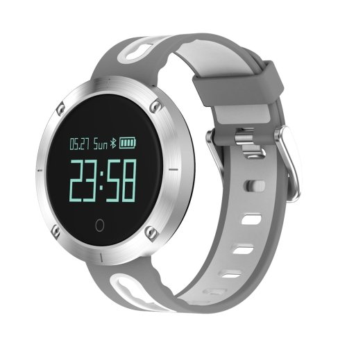 DOMINO DM58 0.95 Inch OLED Large Touch Screen Display Sport Smart Bracelet - White