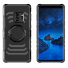 For Galaxy S 9 + Detachable Drop proof Black Back Cover Case with Sport Armband