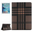 For iPad Pro 9.7 Stripes Pattern Flip Leather Case with Holder, Card Slots & Wallet