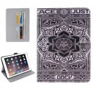 For iPad Pro 9.7 Flower Pattern Flip Leather Case with Holder, Card Slots & Wallet