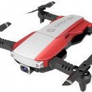 LANSENXI NVO 2.4GHz 4-Axis 4CH Foldable HD Aerial 4K Camera Quadcopter - Red