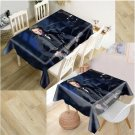 3D Oxford 140 x 180 cm tablecloth Johnny Hallyday N ° 5 - Delivery ~ 12/18 days