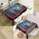 3D Oxford 120 x 120 cm tablecloth Johnny Hallyday N ° 7 - Delivery ~ 12/18 days