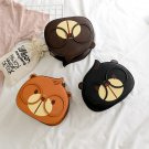Small round cat style shoulder bag - 3 Colors