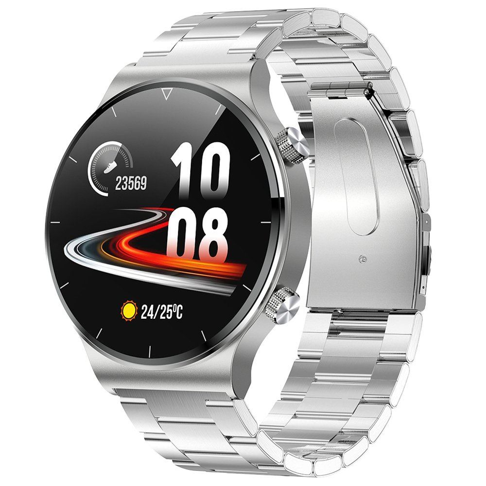 Smart waterproof watch with heart rate and blood pressure - 6 colors