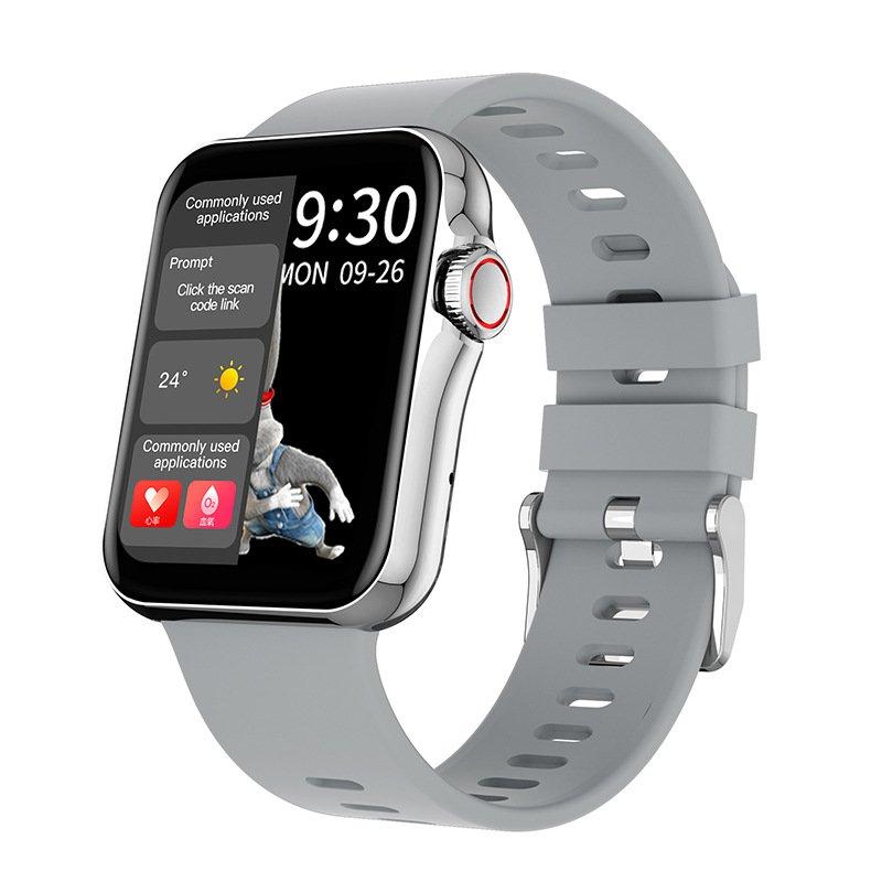 D06 split screen Bluetooth waterproof smartwatch - 4 colors