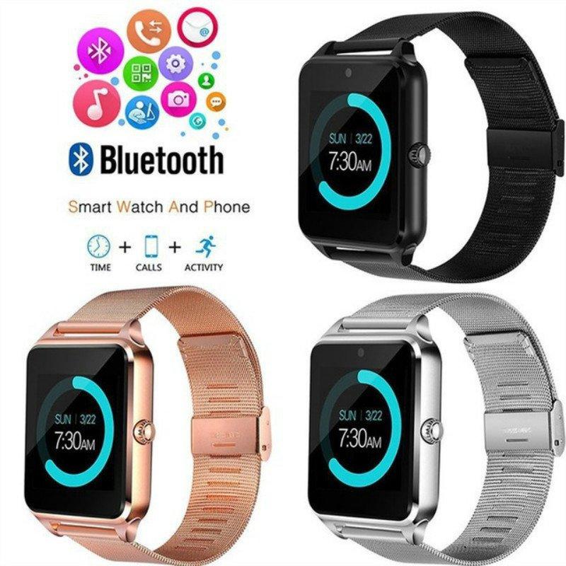 Z60 Bluetooth Smart Watch, Pedometer, Sleep Monitor - 3 Colors