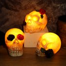 Halloween Glowing Ghost Head Skull - 3 models