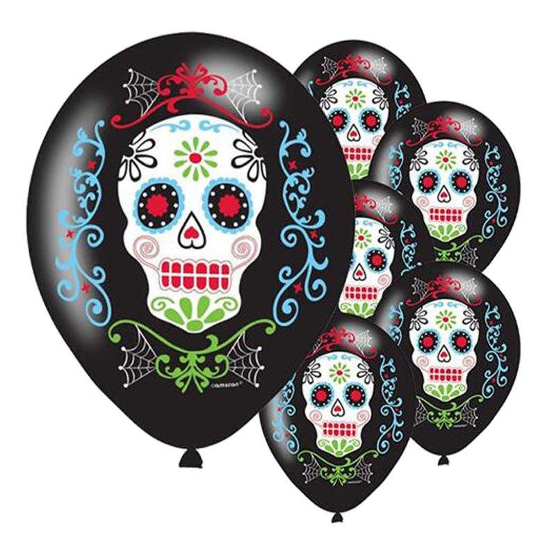 100 pieces Halloween animal skull latex balloon