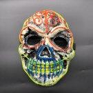 Halloween skull LED glowing mask
