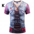 Fashion Slim Fit t-shirt Halloween cosplay - several models and sizes