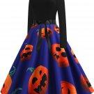 Halloween Hepburn Style Retro Print Big Skirt 4 - several sizes