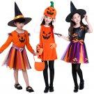 Children's Halloween costume girls pumpkin costume - Model 1 several sizes