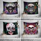 Skull Halloween digital print tapestry, 2 sizes - Model N° 1