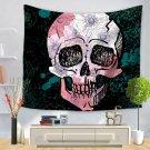 Skull Halloween digital print tapestry, 2 sizes - Model N° 2
