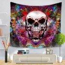 Skull Halloween digital print tapestry, 2 sizes - Model N° 3