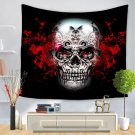 Skull Halloween digital print tapestry, 2 sizes - Model N° 6
