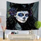 Skull Halloween digital print tapestry, 2 sizes - Model N° 8
