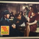 CHARLIE CHAN in DEAD MEN TELL LOBBY CARD, 20TH CENTURY FOX 1941, SIDNEY TOLER