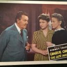 CHARLIE CHAN in THE JADE MASK LOBBY CARD, MONOGRAM PICTURE 1944, SIDNEY TOLER