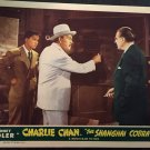 CHARLIE CHAN in THE SHANGHAI COBRA LOBBY CARD, MONOGRAM PICTURE 1945, SIDNEY TOLER