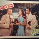 "CHARLIE CHAN ""DANGEROUS MONEY"" LOBBY CARD, MONOGRAM PICTURES 1946, SIDNEY TOLER"