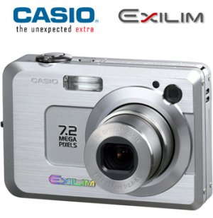7.2MP DIGITAL CAMERA WITH 3X OPTICAL ZOOM