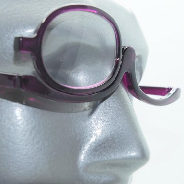 MakeUp Cosmetic Amethyst Purple Reading Glasses Must Have Beauty Product +1.50