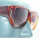 Big Femme Floral Sunglasses Multi Tortoise Amber Trim Frame