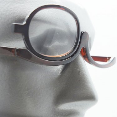 MakeUp Cosmetic Topaz Brown Reading Glasses Must Have Beauty Product +1.75